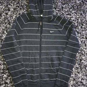 Women's Nike Black striped jacket